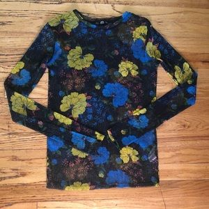 Sheer Zara Floral Top